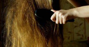 حل تشابك الشعر بالصور من تجارب البنات