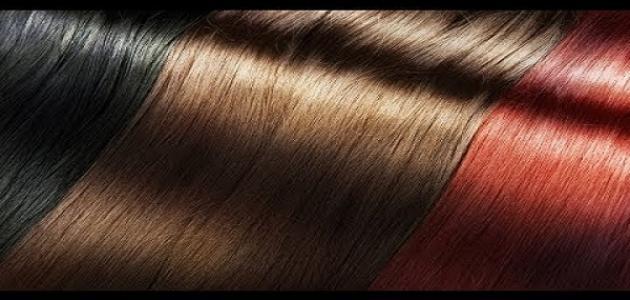 صبغة الشعر الطبيعيه