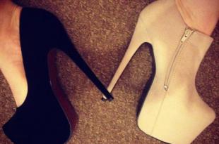 صور اجمل موضة الاحذية الجلدية ذات الكعب العالي احلى حذاء كعب جميل