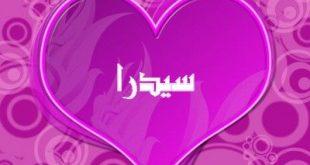 معنى اسم سيدرا في اللغة العربية