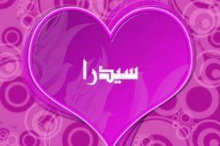 صور معنى اسم سيدرا في اللغة العربية