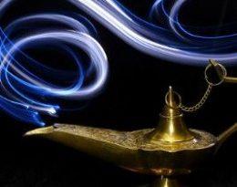 صور علاء الدين والمصباح السحري المارد