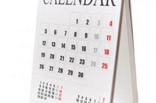 صور عدد ايام الاشهر الميلادية بالترتيب