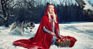 صورة قصة ليلى والذئب كاملة