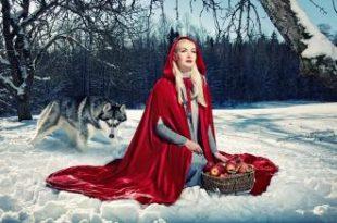 صور قصة ليلى والذئب كاملة