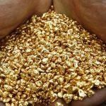 استخراج الذهب من باطن الارض