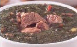 صورة طريقة عمل الملوخية باللحم والبندورة , من الاكلات الشعبية المصرية