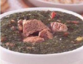 صور طريقة عمل الملوخية باللحم والبندورة , من الاكلات الشعبية المصرية