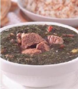 طريقة عمل الملوخية باللحم والبندورة , من الاكلات الشعبية المصرية