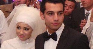 صورة محمد صلاح وزوجته