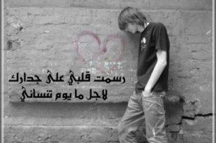 صور شعر لاتندم على حب عشته