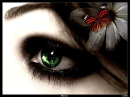 لون العيون الاخضر بالصور