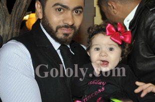 صوره بالصور هده هي ابنة تامر حسني التانية