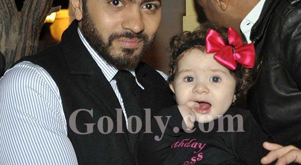 صور بالصور هده هي ابنة تامر حسني التانية
