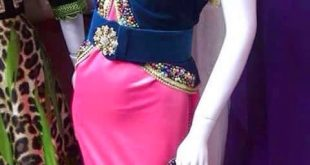 صور اجمل الفساتين الجزائرية 2017