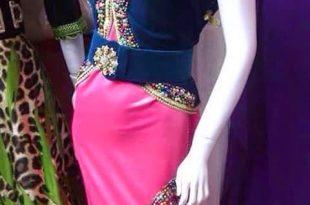 صوره اجمل الفساتين الجزائرية 2019