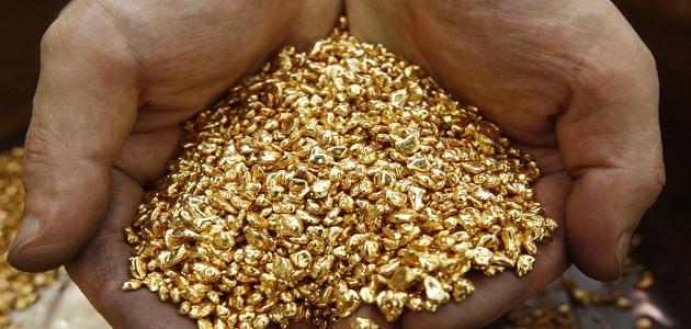 صوره استخراج الذهب من باطن الارض
