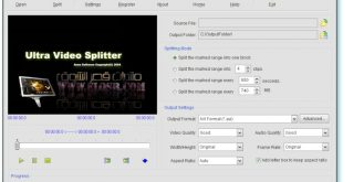 صورة برنامج لتقطيع الفيديو