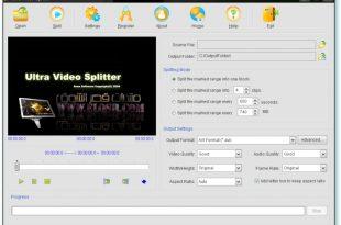 صور برنامج لتقطيع الفيديو