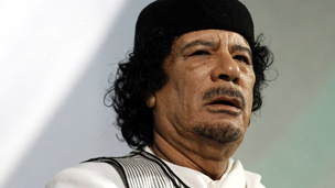 صوره كيفية القبض على معمر القذافي