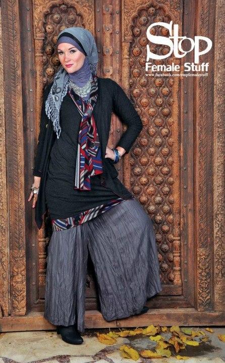 ازياءَ بنات محجبات 2017 ملابس 44856.imgcache