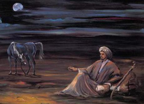 صوره اجمل قصائد شعر عن الفراق شعر جاهلي