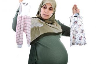 صورة الفرق بين بطن الحامل بولد والحمل ببنت