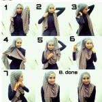 صور طرق لبس الحجاب بالصور