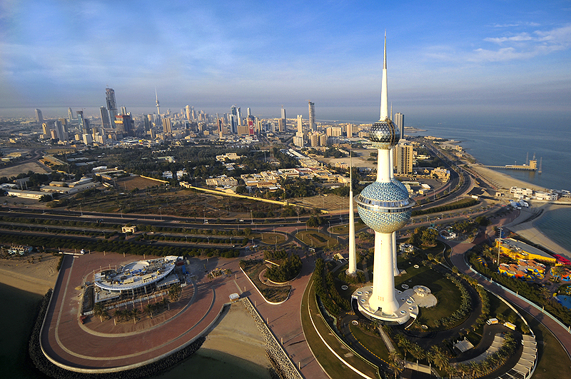 صورة موضوع انجليزي عن الكويت