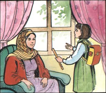 صور قصة للاطفال عن الامانة