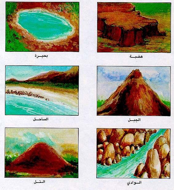 صورة تعريف التلال , درس في الجغرافيا