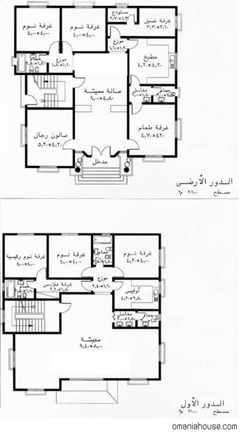 بالصور تصميم منزل صغير , مخطاتات منازل صغيرة 20160717 103