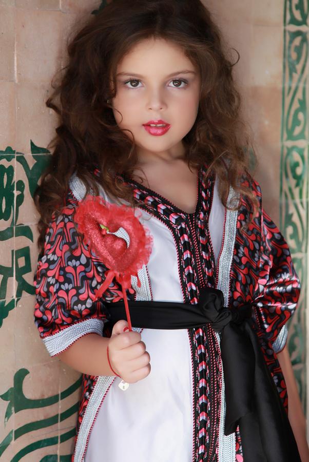 صور قفاطين مغربية 2017 , قفاطين للاطفال