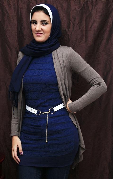 صورة ملابس بنات الجامعه , ازياء محجبات