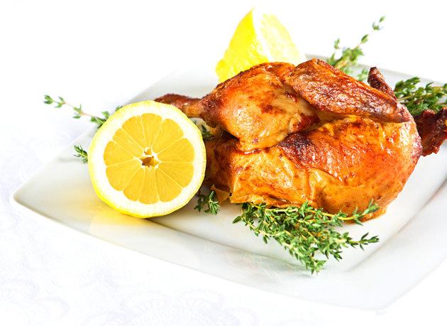 صور دجاج مشوي بالزعتر والزيتون, افضل واحدث طريقه دجاج مشوي