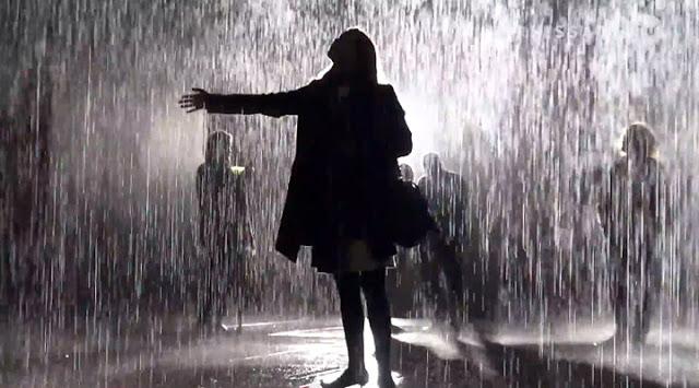 صور جو ممطر رومنسي
