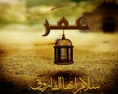 صورة استشهاد عمر بن الخطاب