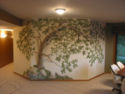 صورة اجمل الدهانات للحوائط