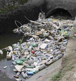 صور مصادر تلوث الماء