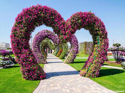 صور حديقة المعجزات بدبي بالصور