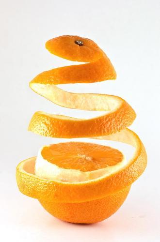 صور قشرة البرتقال