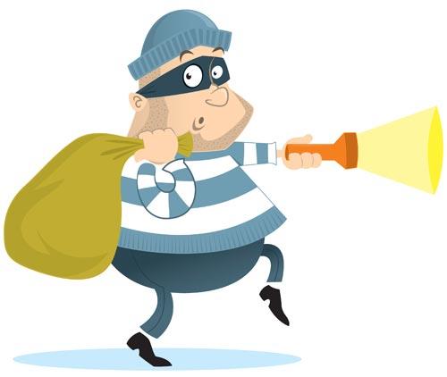 صورة مقال عن السرقة