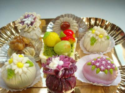 صورة حلويات العيد جزائرية