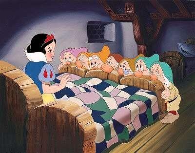صورة قصة فلة واقزام السبعة