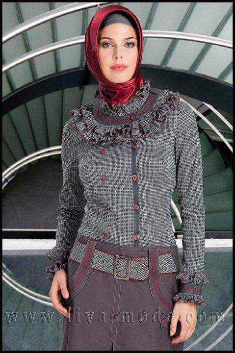 صورة ملابس المحجبات التركية