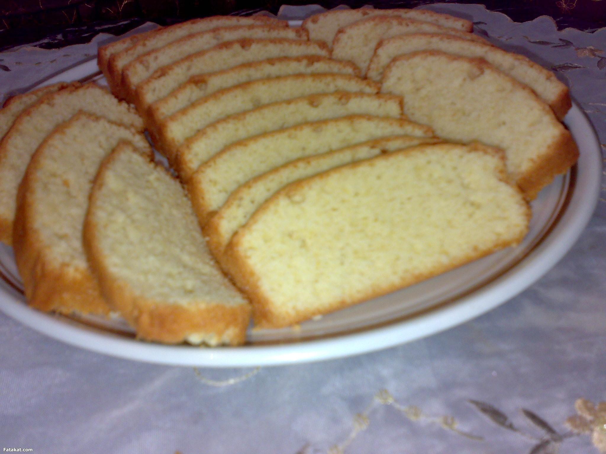 صور طريقة عمل الكيك العادي بل كريمة