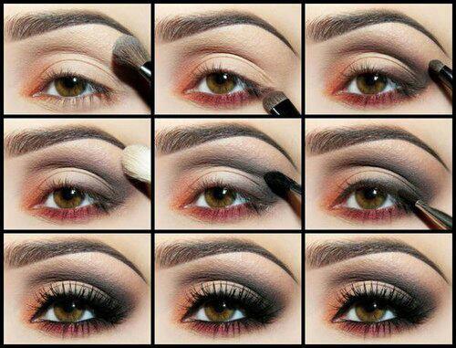 صور طريقة رسم العيون بالخطواط