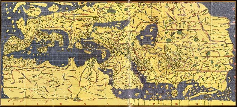 صوره من هو الجغرافي العربي الذي رسم اول خريطة للعالم