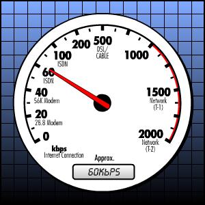 صور قياس سرعة الانترنت الحقيقة بدق تقنيات الانترنت