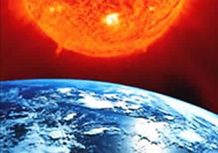 صورة موضوع حول الاحتباس الحراري